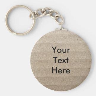 Cardboard Key Ring