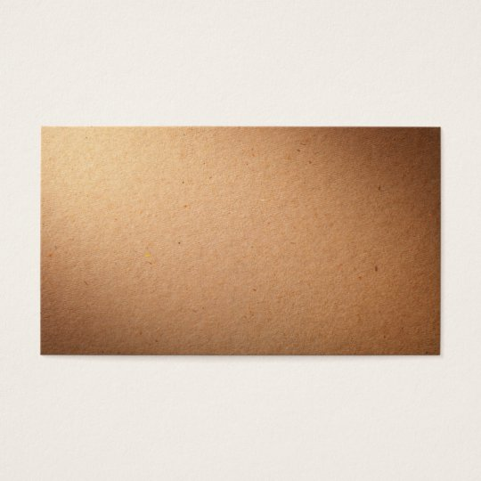 Cardboard Texture For Background Business Card