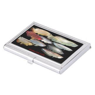 Cardcase of arowana of the world, No.01 Business Card Holder