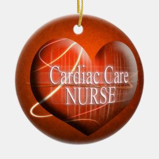 CARDIAC CARE NURSE HEART SPECIALIST ORNAMENT