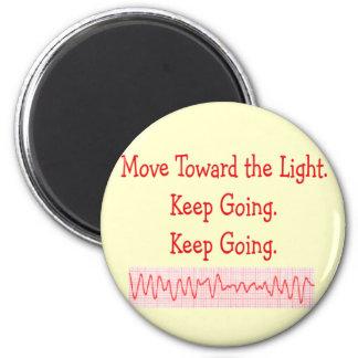 Cardiac ER Nurse Funny V-Fib Rhythm Strip Fridge Magnet