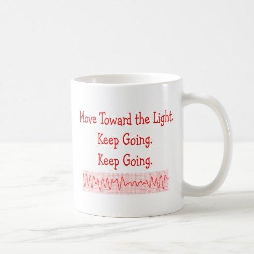 Cardiac/ER Nurse  Funny V-Fib Rhythm Strip Coffee Mugs