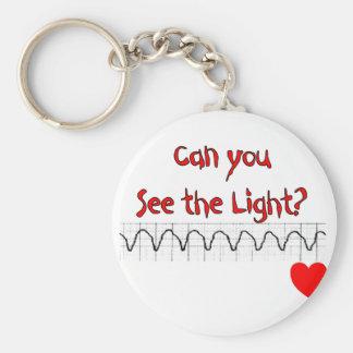Cardiac/ ER Nurse Hilarious sayings Basic Round Button Key Ring