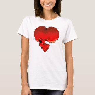 Cardiac Ladies Baby Doll (Fitted) T-Shirt