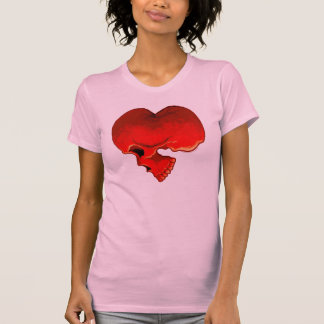Cardiac Ladies Twofer Sheer T-Shirt