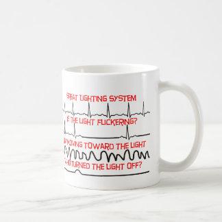 Cardiac Lighting System --Cardiac Nurse Gifts Coffee Mug