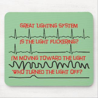 Cardiac Lighting System --Cardiac Nurse Gifts Mouse Mat