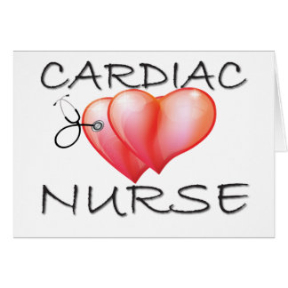 Cardiac Nurse Gifts Card