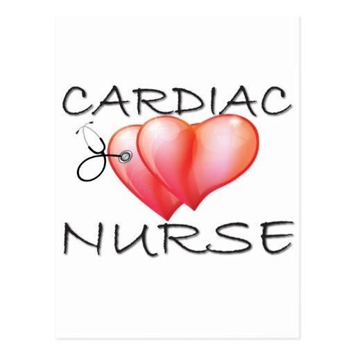 Cardiac Nurse Gifts Post Cards
