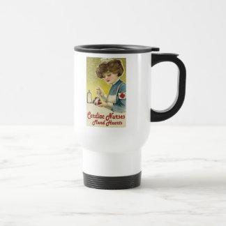 Cardiac Nurse Mend Hearts Travel Mug
