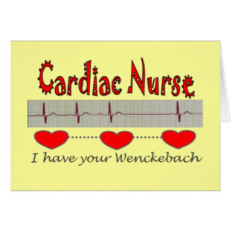 Cardiac Nurse T-shirts and Gifts Card