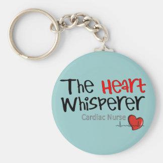 Cardiac Nurse T-Shirts Gifts Keychain