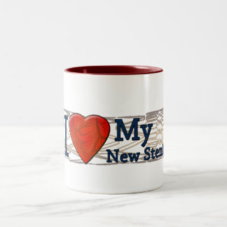 Cardiac Recovery Gifts | Stent T-shirts Two-Tone Coffee Mug
