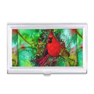 Cardianl In the Tree Business Card Holder