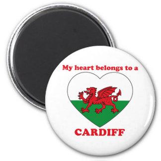 Cardiff 6 Cm Round Magnet