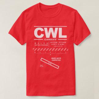 Cardiff Airport CWL T-Shirt