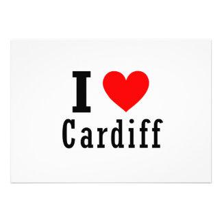 Cardiff Alabama City Design Personalized Invite