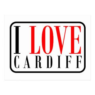 Cardiff Alabama City Design Postcard