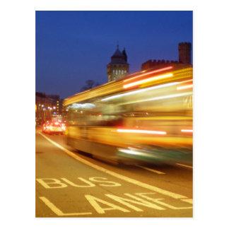 Cardiff at Night Postcard