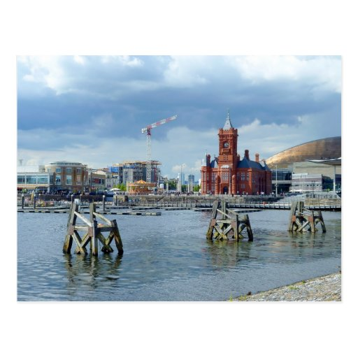 Cardiff Bay, Cardiff, Wales Post Card