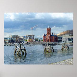 Cardiff Bay, Cardiff, Wales Print