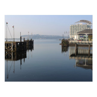 Cardiff Bay Reflections Postcard