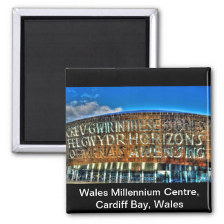 Cardiff Bay Wales Millennium Centre, Britain Arts Square Magnet
