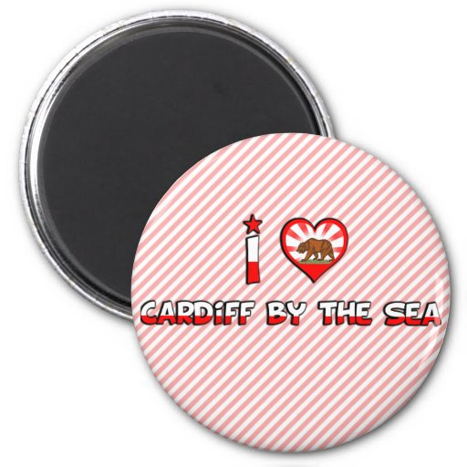 Cardiff by the Sea, CA Refrigerator Magnet