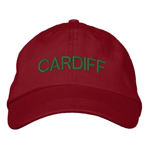 Cardiff Cap Embroidered Hats