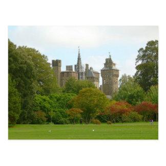 Cardiff Castle Post Card