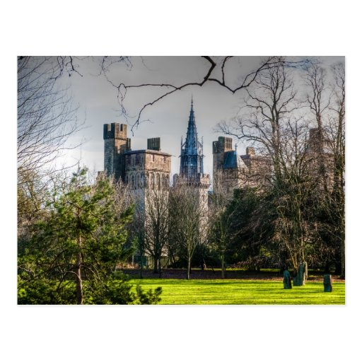Cardiff Castle Post Cards
