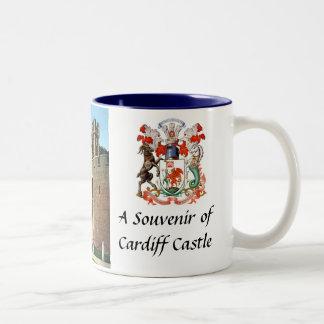Cardiff Castle Souvenir Mug