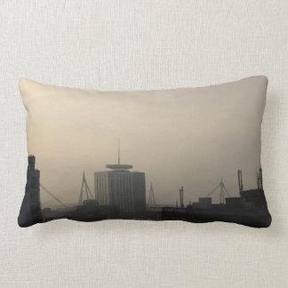 Cardiff City Skyline Lumbar Cushion