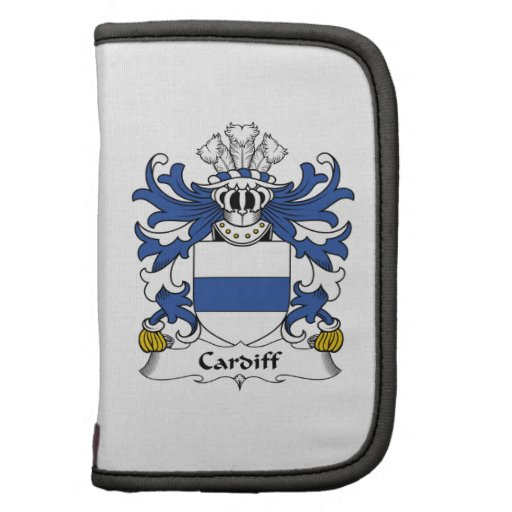 Cardiff Family Crest Folio Planners