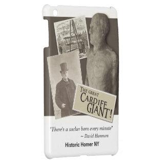 Cardiff Giant w/Hannum Quote iPad Mini Case