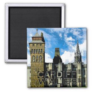 Cardiff Square Magnet