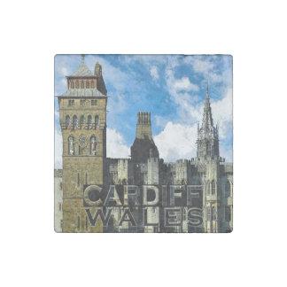 Cardiff Stone Magnet