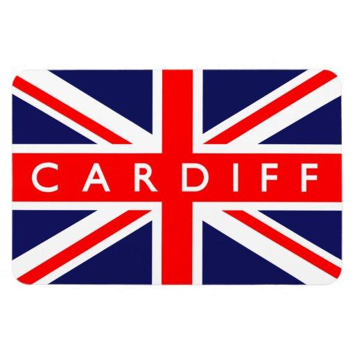 Cardiff UK Flag Flexible Magnets