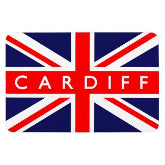 Cardiff UK Flag Rectangular Photo Magnet