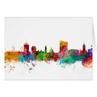 Cardiff Wales Skyline Card