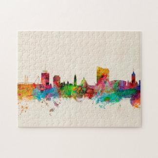 Cardiff Wales Skyline Jigsaw Puzzle