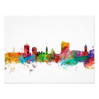 Cardiff Wales Skyline Photo Print