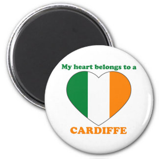 Cardiffe 6 Cm Round Magnet