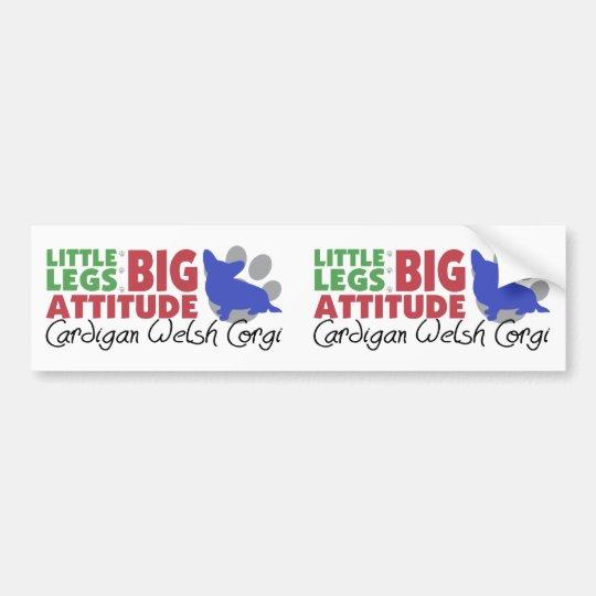 Cardigan Little Legs Bumper Sticker