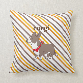 cardigan welsh corgi border cushion