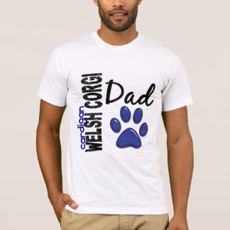 Cardigan Welsh Corgi Dad 2 T-Shirt