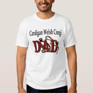 Cardigan Welsh Corgi Dad Apparel T Shirts