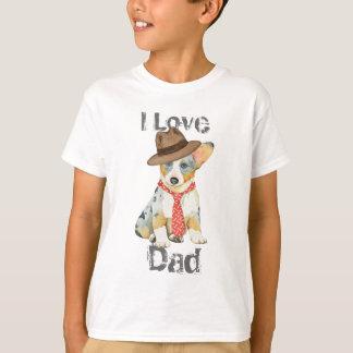 Cardigan Welsh Corgi Dad T-Shirt