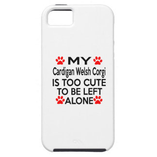 Cardigan Welsh Corgi Designs Case For The iPhone 5