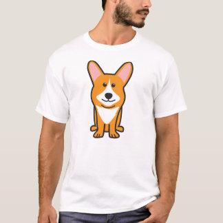 Cardigan Welsh Corgi Dog Cartoon T-Shirt
